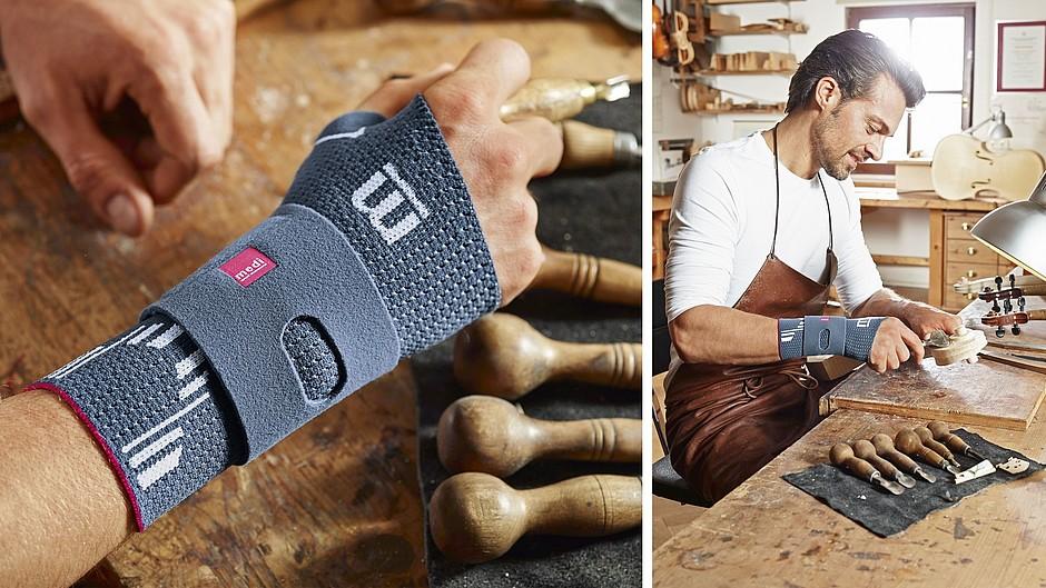 Manumed active soft wrist support details