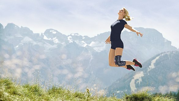 Knieorthesen medi springen -